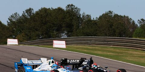 Graham Rahal and Simon Pagenaud have engaged in some tight IndyCar battles this season, but Pagenaud insists that there is no budding rivalry between them.