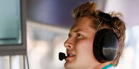 Josef Newgarden, 25, is joining the Team Penske driving stable for the 2017 season.