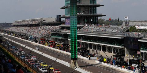 The Indianapolis Motor Speedway will host the Monster Energy Cup Series regular-season finale in 2018.