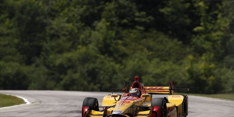 Ryan Hunter-Reay has won three of the last four IndyCar races at Iowa, and he hopes to win it again this weekend.