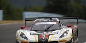 The Action Express Corvette Daytona Prototype of Joao Barbosa and Christian Fittipaldi won Sunday's IMSA race at Watkins Glen.