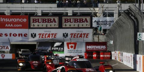 Tristan Nunez and Jonathan Bomarito won the Prototype pole for Sunday's IMSA WeatherTech SportsCar Championship race for Mazda. They will be joined on the front row by fellow Mazda drivers Tom Long and Joe Miller.