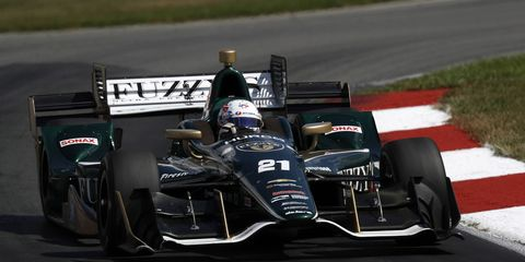 IndyCar driver Josef Newgarden says he wants to race a NASCAR event and that he knows of five or six NASCAR drivers who are interested in racing in the Indy 500.