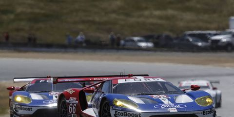 The Ford GT got a historic win at Laguna Seca on Sunday.