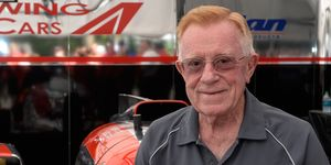 Don Panoz died Tuesday at the age of 83.