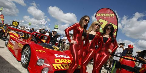 Grid girls, like the ones shown in this photo from 2012, are no longer welcome at World Endurance Championship races.