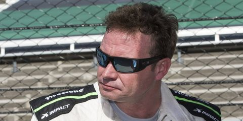 At 49 years old, Buddy Lazier is the oldest driver on the Indianapolis 500 grid this season.