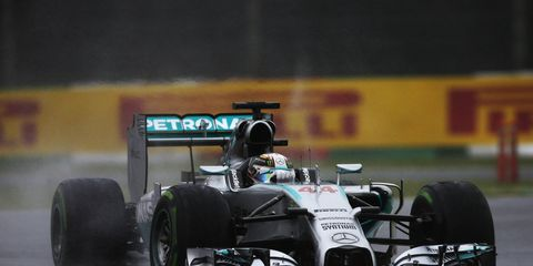 Lewsi Hamilton took over the Formula One points lead with his win in Japan on Sunday.