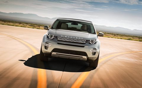 Land Rover revealed its new seven-passenger Discovery Sport SUV on Wednesday at Spaceport America in New Mexico.