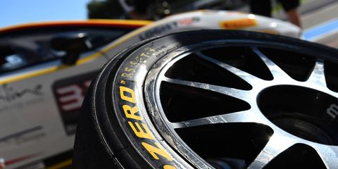 Pirelli provides tires to the Super Trofeo Blancpain series, among others.
