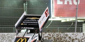 Kyle Larson believes World of Outlaws could work on a live television platform.