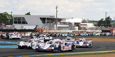 The 56-car field for Le Mans will include 14 LMP1 cars, 20 in the LMP2 class, nine LM GTE and 13 in the LM GTE Am class.