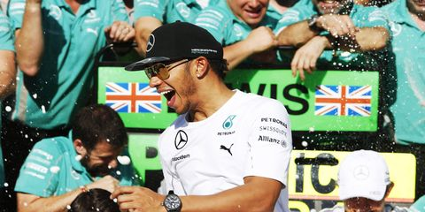Lewis Hamilton can clinch the 2014 Formula One championship with a win or second-place finish in Abu Dhabi. Of course, should challenger Nico Rosberg stumble, the path to a championship becomes easier for Hamilton.
