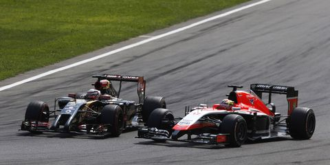 Lotus and Marussia are two of three Formula One teams rumored to be struggling mightily on the financial side this season. One former F1 executive goes so far as to suggest that those teams my be folding.