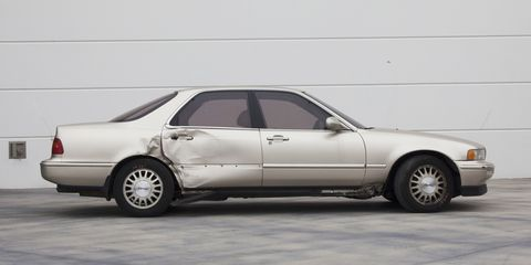 Ludacris' 1993 Acura Legend was recently damaged, but will be brought back by the automaker itself.