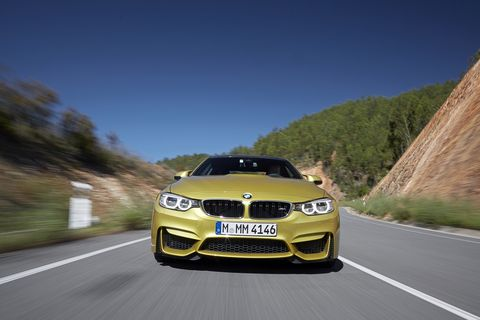 The 2015 BMW M4 Coupe has a serious amount of driving modes.