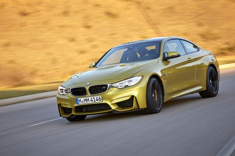 The color of the 2015 BMW M4 Coupe is a love-it-or-hate-it proposition.