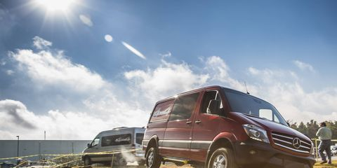 Sprinter gets an available 4x4 system for 2015.