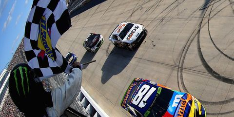 Kyle Busch won his second Playoff race Sunday at Dover.