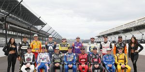 These are the 16 drivers that will compete for the 2018 Monster Energy NASCAR Cup Series championship.