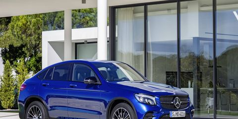 The 2017 Mercedes-Benz GLC gets the coupe treatment before the New York auto show.