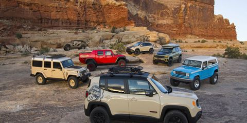 These Easter Jeep Safari concepts showed up in the desert along with a handful of performance parts.