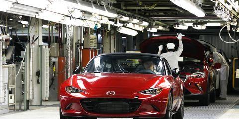 The 2016 Mazda MX-5 Miata: It's happening.