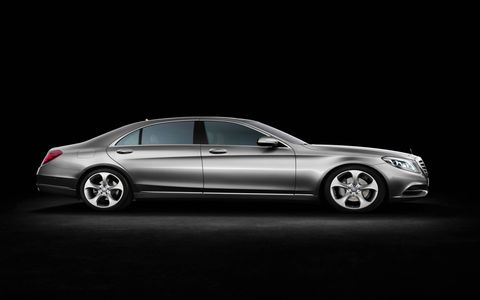 The 2014 Mercedes-Benz S550 4Matic Sedan comes in at a base price of $96,825.