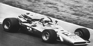 Mario Andretti won the Indy 500 in 1969. He's the only racer who has ever won the Indy 500, the Daytona 500 and the F1 championship.