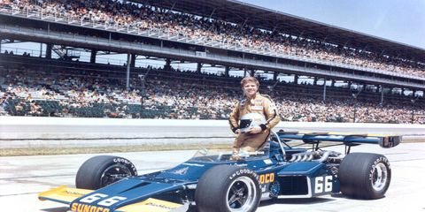 Mark Donohue won the 1976 Indy 500, giving Roger Penske his first Indy 500 win as an owner.
