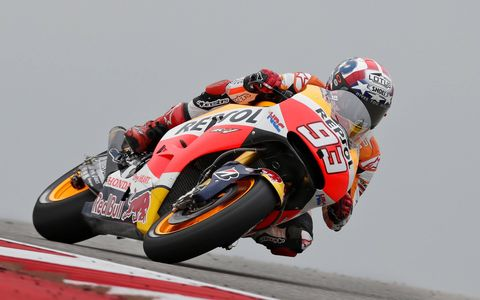Marc Marquez cruised to an easy win at Circuit of the Americas on Sunday. The margin of victory was a healthy two seconds.