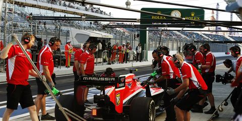 Assets of the bankrupt Marussia Formula One team are heading to the auction block.