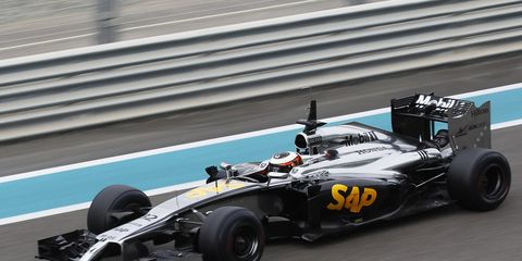 McLaren's 2015 Formula One car will be unveiled on Jan. 29.