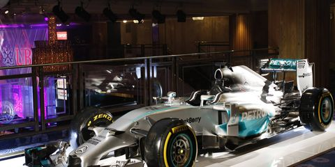 Reports say Mercedes will switch to a chrome, mirror-like paint scheme for the 2015 Formula One season.