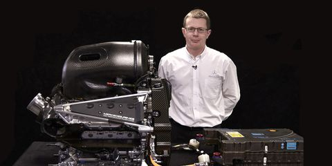 Andy Cowell is managing director of Mercedes AMG High Performance Powertrains.