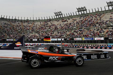 Sights from the Nations Cup action at the 2019 Race of Champions in Mexico, Saturday Jan. 19, 2019.