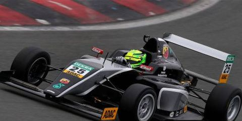 Mick Schumacher participated in his first public Formula 4 test this week.
