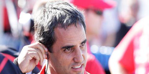 Juan Pablo Montoya made a successful return to open-wheel racing in 2014.