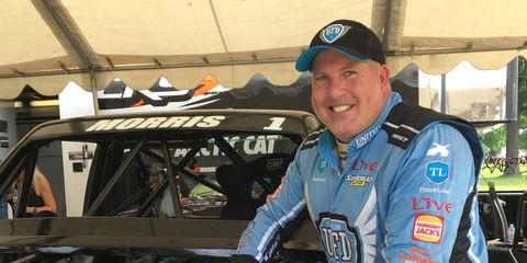 Paul Morris likes his newest driving challenge in the Speed Energy Stadium Super Trucks.
