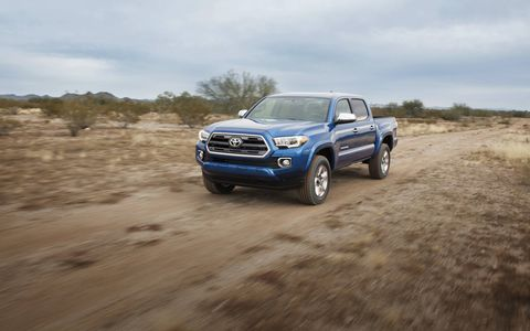 A look at the 2016 Toyota Tacoma midsize pickup truck ahead of its official 2015 Detroit auto show reveal.