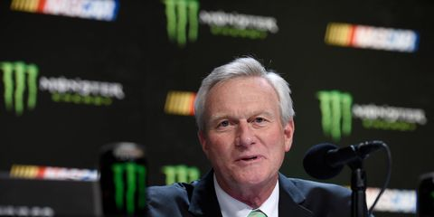 Monster Energy CMO Mark Hall intends to target millenials with his sponsorship of what used to be the NASCAR Cup Series