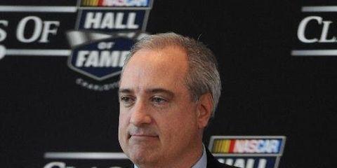 Brett Jewkes joined NASCAR's management team in 2011.