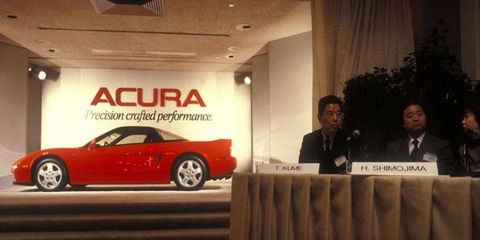The original NSX was Honda's foray into serious sports-car territory, and the company hasn't been the same since.