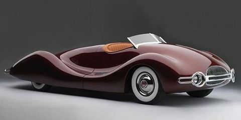 The Norman Timbs Special was supposed to be a prototype for a series of cars reflecting advanced concepts in performance and aesthetics.