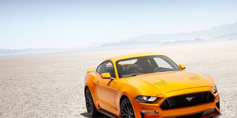 Ford's 5.0-liter V8 engine has been thoroughly reworked. It's more powerful and revs higher than any Mustang GT before.