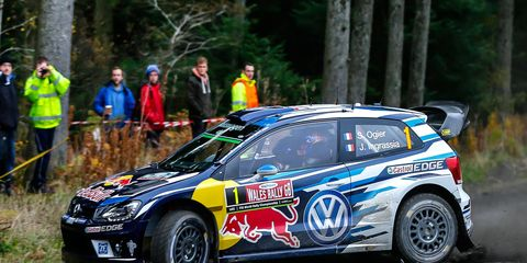 Sebastien Ogier clinched his fourth consecutive World Rally Championship crown last month with a win in Wales.