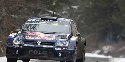 Defending WRC champion Sebastien Ogier started his season off right with a win in Monaco on Sunday.