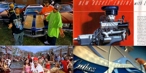 Oldsmobile is no longer with us, but rappers still prize their Cuttys. And, of course, the very first rock 'n' roll song was about an Olds.
