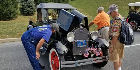 Go to an event like the Hershey Swap Meet and the fears about the graying of the old car hobby don't seem so unfounded.