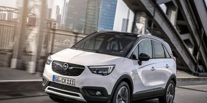 The Opel Crossland X shares its platform with the Citroën C3 Aircross.
